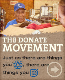 Calculate the real-world impact of your donation. Discover just how much your donations help at http://donate.goodwill.org/